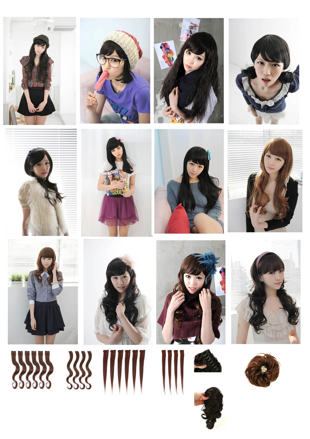 Fashion Wig[Hair Extension][Gabalia Co., L...